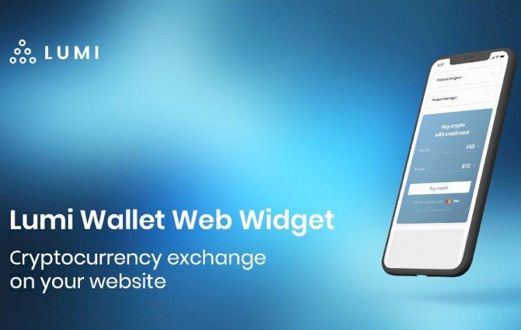 Lumi Wallet Web Widget: Cryptocurrency Exchange on Your Website